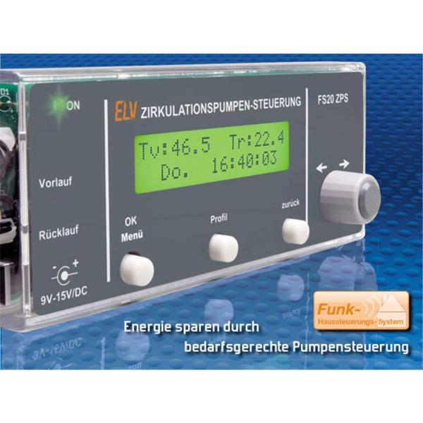 Zirkulationspumpen-Steuerung FS20 ZPS Teil 1/2