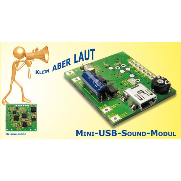 Mini-USB-Sound-Modul MSM 1