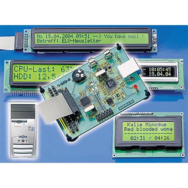 USB-LCD-Ansteuerung ULA200 Teil 1/2