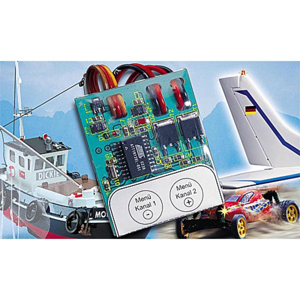 Modellbau-2-Kanal-Blinker/-Schalter MBS200