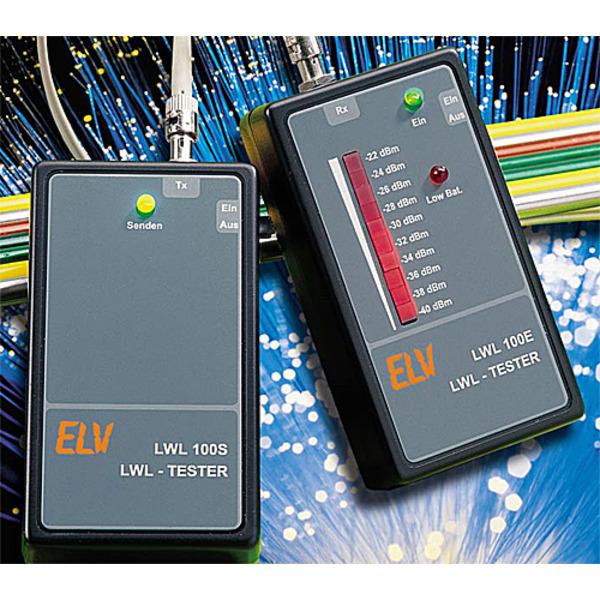 Lichtwellenleiter-Kabeltester LWL100S/LWL100E