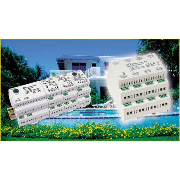 Hausschaltsystem HS485 – Hutschienen-Multi-I/O-Modul IO127 Teil 1/2