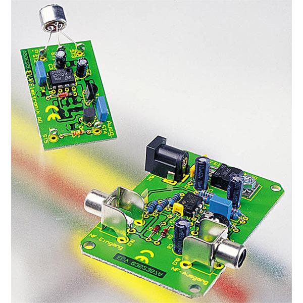 Fernspeisung für Elektret-Mikrofone FFK1