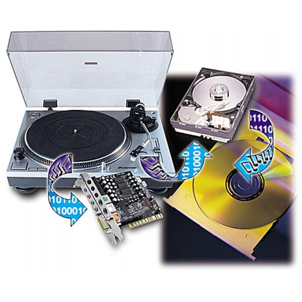 Von der Platte auf die CD - digitale Speicherung von Platten- und Bandarchiven