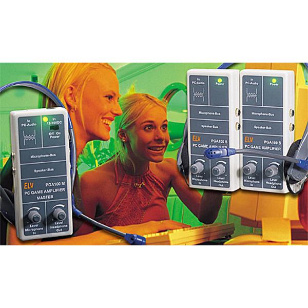 PC-Game-Amplifier PGA-Master/PGA-Slave