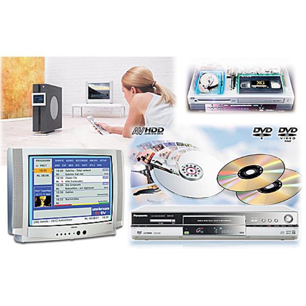 Nicht mehr ohne Platte - Digitale Videorecorder