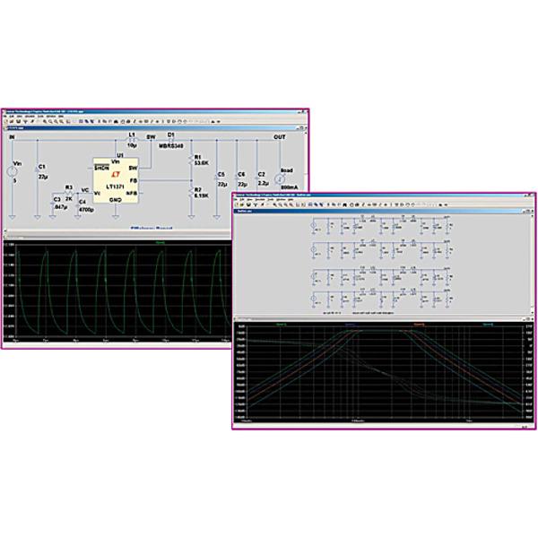 Simulationssoftware SwitcherCAD III