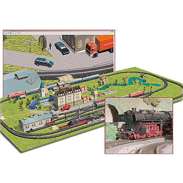 3D-Modellbahn-Construction Kit!