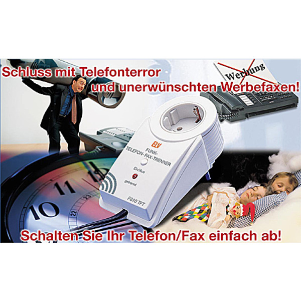 Telefon-Fax-Trenner TFT100/FS20TFT