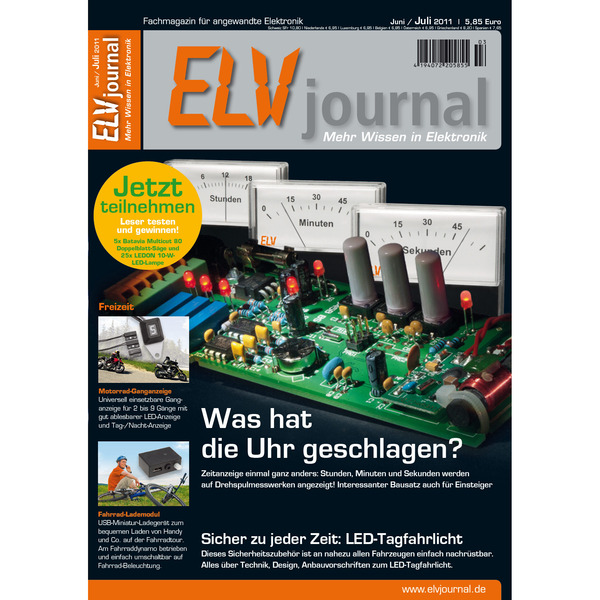 ELVjournal Ausgabe 3/2011 Digital (PDF)