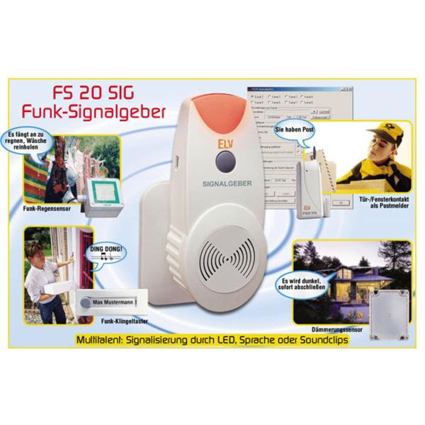 FS 20 SIG Funk-Signalgeber