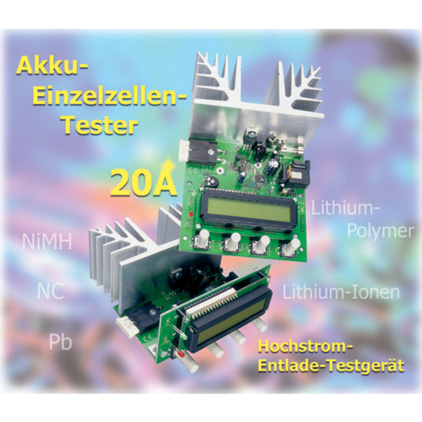 Akku-Einzelzellen-Tester HET 20 Teil 1/2