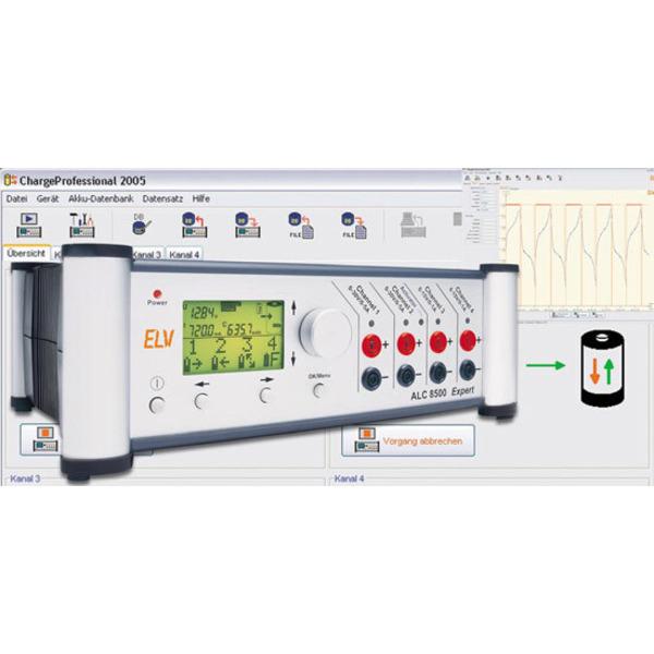 Akku-Lade-Center ALC 8000/ALC 8500 Expert Teil 4/8