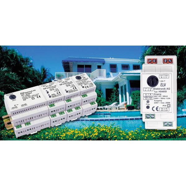 Hausschaltsystem HS485 Phasenanschnitt-Dimmer
