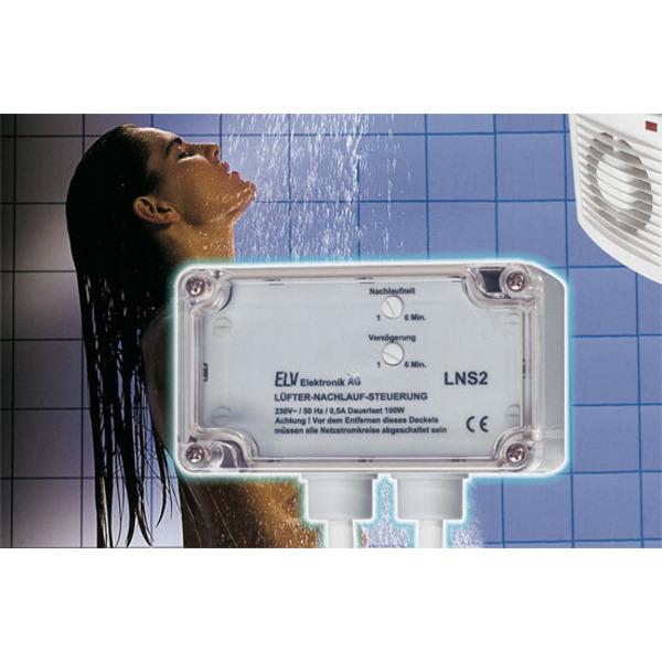 Abluft automatisch – Lüfter-Nachlaufsteuerung LNS 2