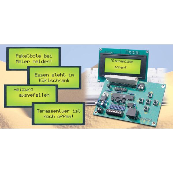LCD-Steuerung mit Textspeicher und einfacher Text-Eingabe