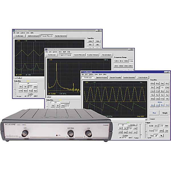50-MHz.Digital-Speicher-oszilloskop für den PC