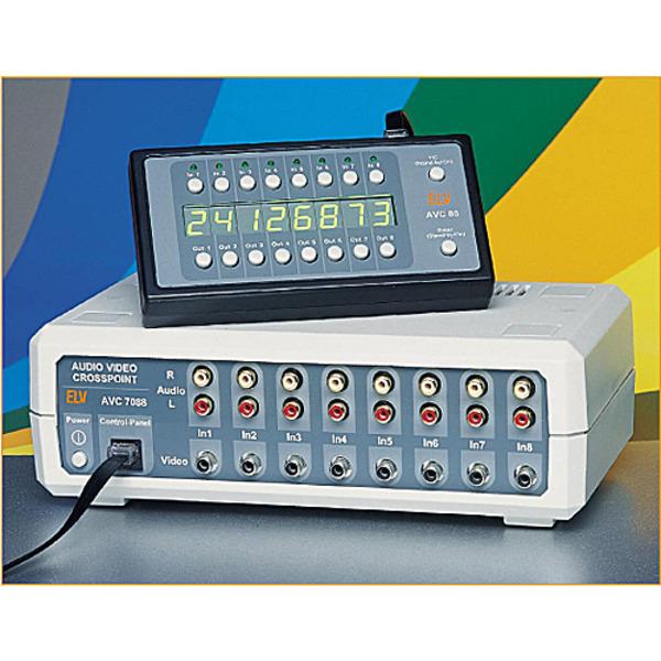 Audio-Video-Kreuzschienenverteiler AVC7088 Teil 1/3