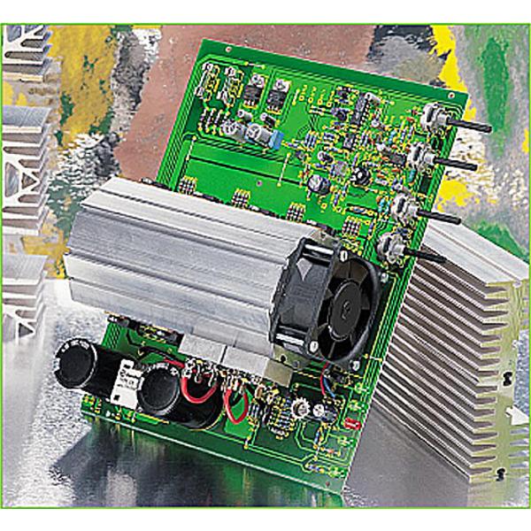 Hochleitungs-Netzteilplatine 0 bis 30 V, 0 bis 10 A Teil 1/2