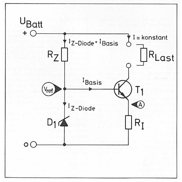 Grundlagen: Stromquelle mit Transistor