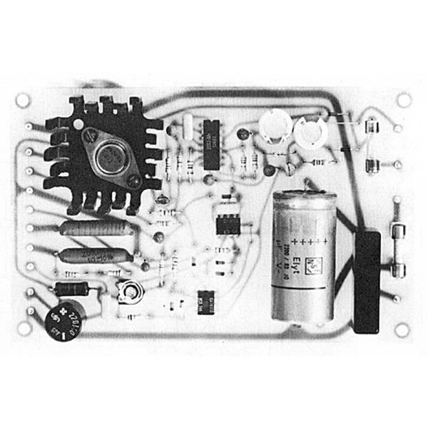 Semiprofessionelles, elektronisch stabilisiertes Netzgerat