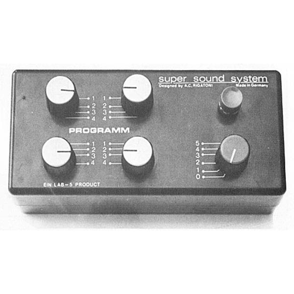 Programmierbare elektronische Sirene