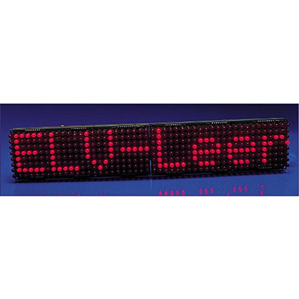 LED-Matrix-Anzeige für einfarbige und mehrfarbige Leuchtdioden Teil 3/4