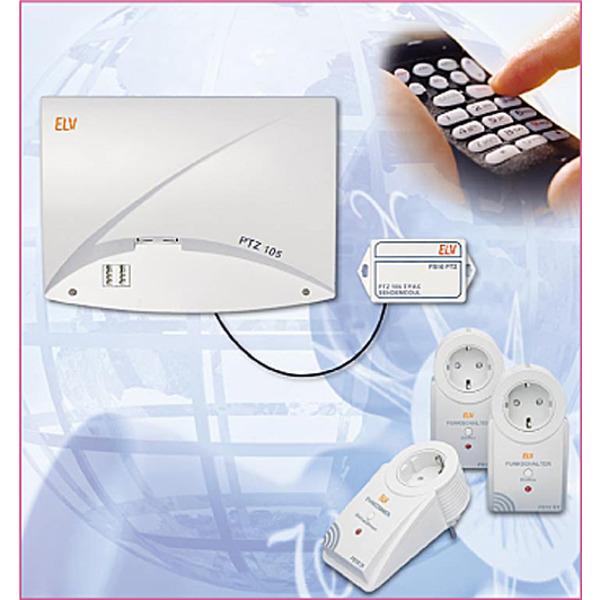 Funk-Fernschalten per Telefon - 433-MHz-Sendemodul für PTZ 105-T/Fax