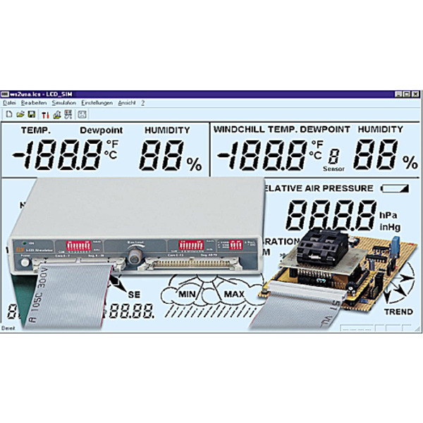 Segment-Zauber - LCD-Simulator für das eigene LCD-Design