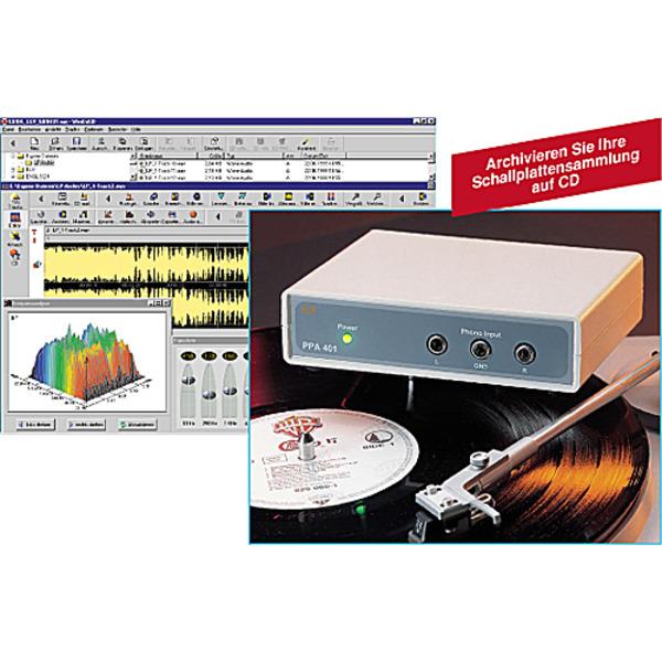 Phono-Entzerrer-Vorverstärker PPA 401