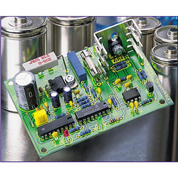 Mikroprozessor-Schnell-Ladeschaltung für 1,5V-Alkal-Mangan-Akkus