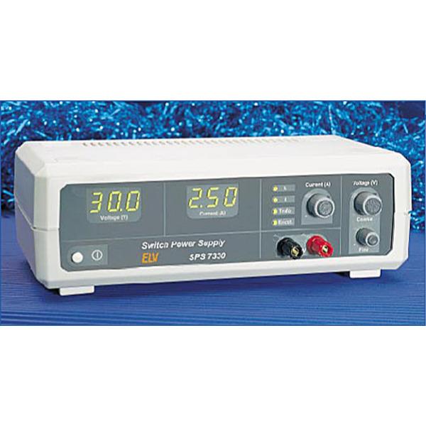 Schaltnetzteile SPS 7330 0-30V / 0-5 A / 75VA Teil 2/2