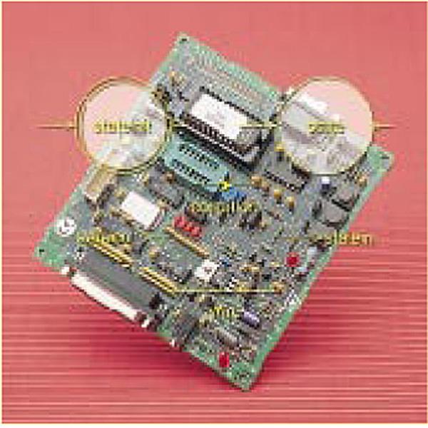 Starter Kit für SGS-Thomson-Mikrocontroller der ST62 Familie