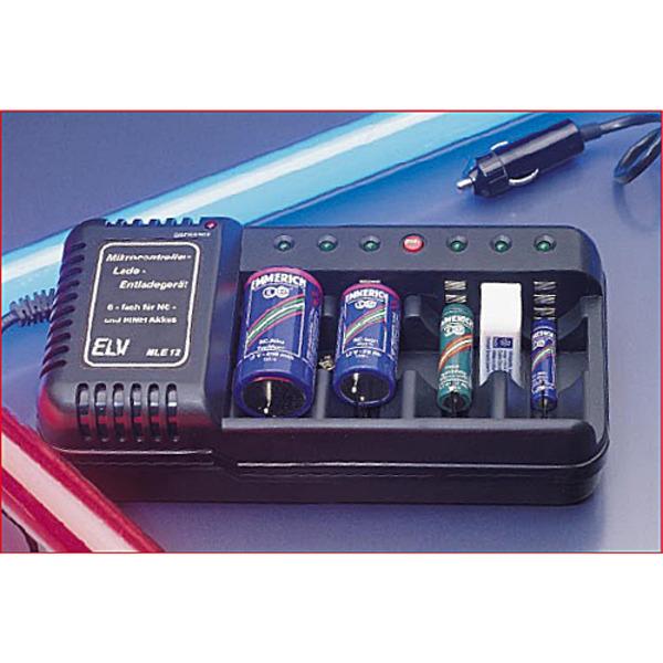 Mikrocontroller-Lade-/Entladegerät MLE 12 Teil 1/2