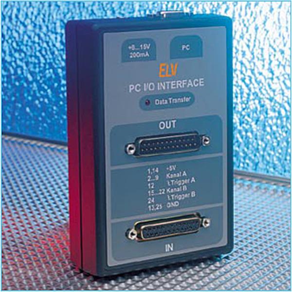 PC-Parallel-IO-Interface PC-IO 16 Teil 3/3