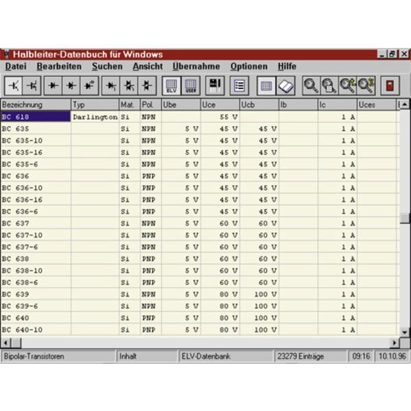 Halbleiter-Datenbuch für Windows