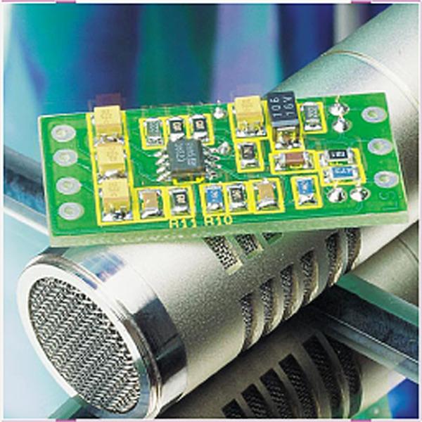 SMD-Mikrofonvorverstärker
