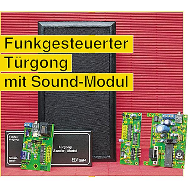 Funkgesteuerter Türgong mit Sound-Modul Teil 2/2