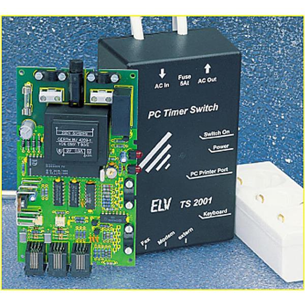 Ein-/Ausschalt-Automatik für PCs: PC-Timer-Switch TS 2001 Teil 1/4