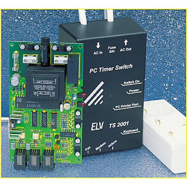 Ein-/Ausschalt-Automatik für PCs: PC-Timer-Switch TS 2001 Teil 2/4