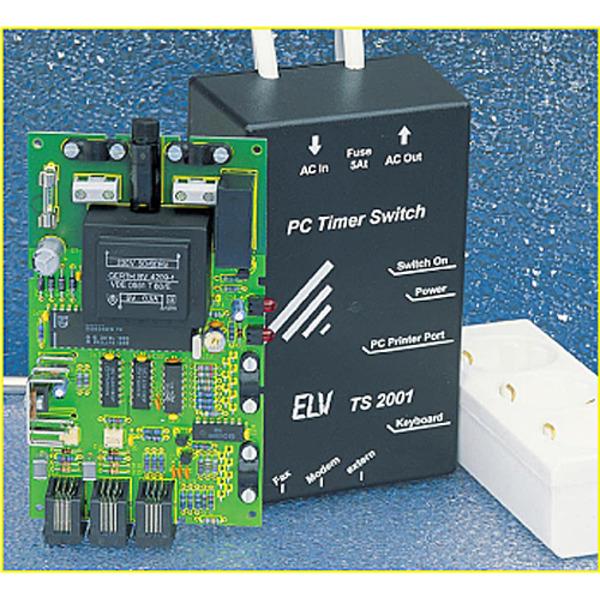 Ein-/Ausschalt-Automatik für PCs: PC-Timer-Switch TS 2001 Teil 3/4