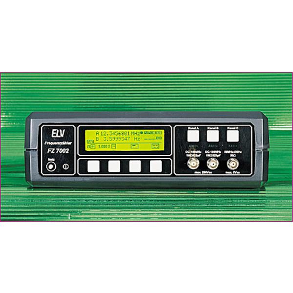Frequenzzähler FZ 7002 Teil 1/3