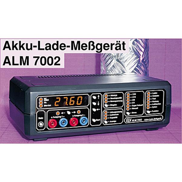 Akku-Lade-Meßgerät ALM 7002 Teil 1/3