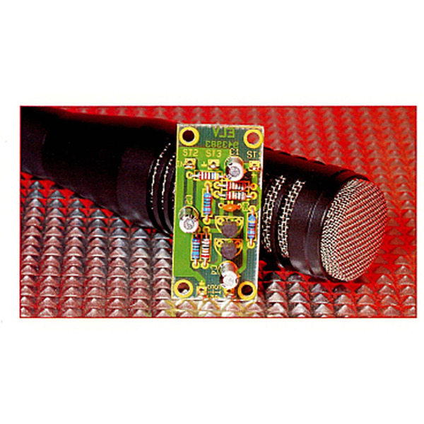 Transistor-Mikrofonverstärker