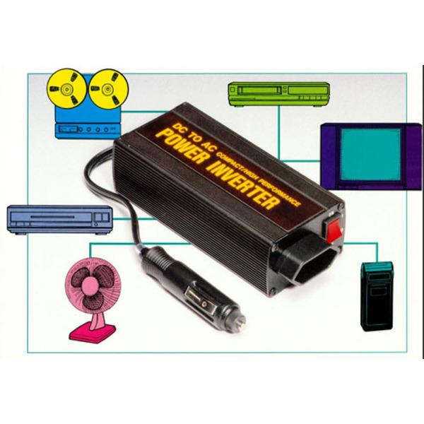 200 VA-Wechselrichter, 12 V=/230 V