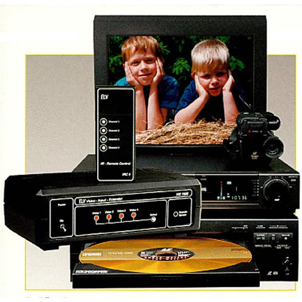 Video-Input-Extender VIE 7000 Teil 1/2