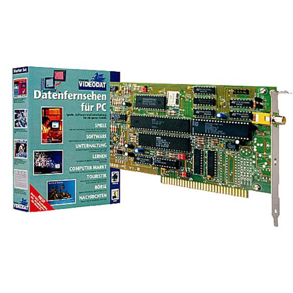 CHANNEL-VIDEODAT-Decoder PC-Einsteckkarte VD 3000 Teil 1/2