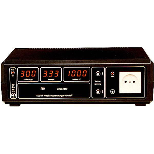 Wechselspannungs-Netzteil WSN 9000 Teil 1/2