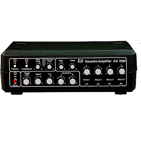 Karaoke-Amplifier KA 7000 Teil 2/2