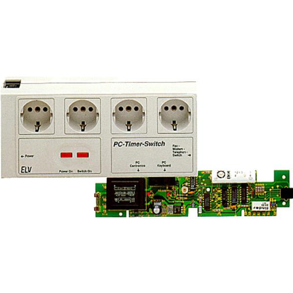 Ein-Ausschalt-Automatik für PCs: PC-Timer-Switch TS 2000 Teil 1/2